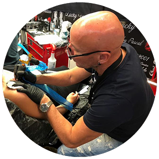 Tattoo-Künstler Daryl