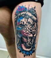 Lion Done by Moses
