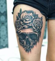 Skull done by Basti