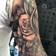 Rose done by Basti