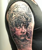 Realistic done by Moses